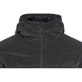 Icebreaker Hyperia Hooded Jacket Herre Black